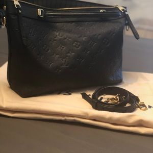 Louis Vuitton Bastille pm black empreinte